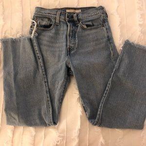 Levi Strauss Wedgie Straight Jeans